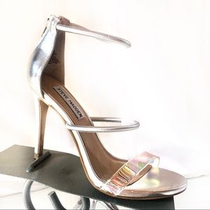 Steve Madden Iridescent Clay Stiletto Heels Sz 6.5